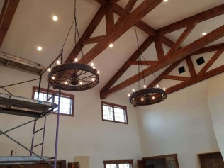 Commercial Lighting Project-Saloon in Gloucester County