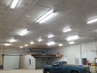 Commercial Lighting Replacement Project-Crab Thicket Warehouse in Gloucester, VA